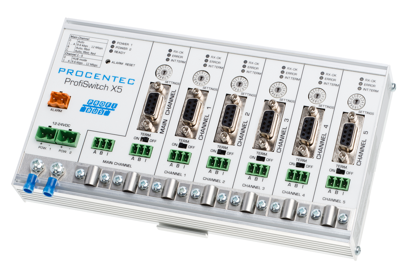 ProfiHub / ProfiSwitch - Multichannel PROFIBUS repeaters