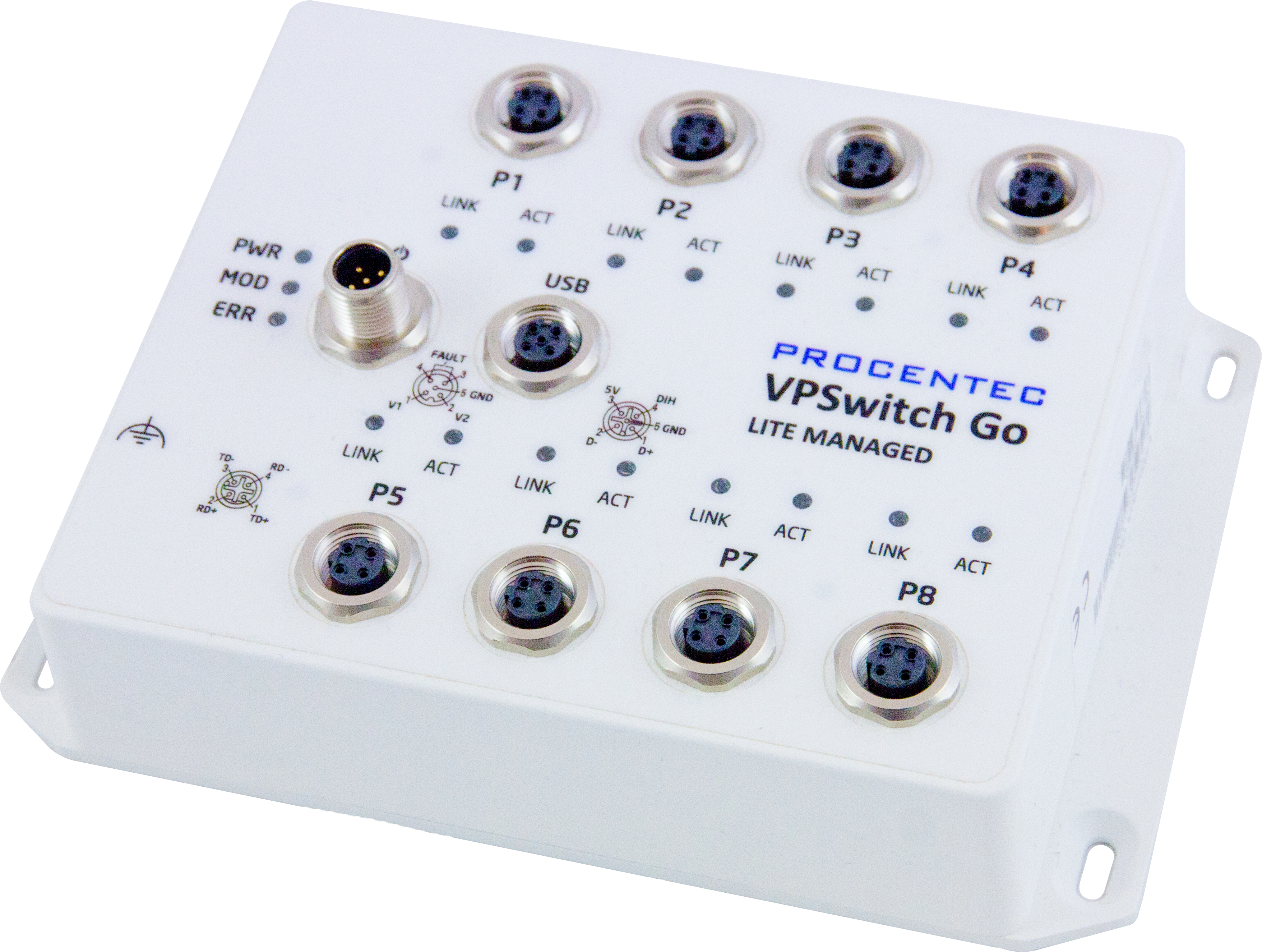 VPSwitch Go Lite Managed 8TX-M12