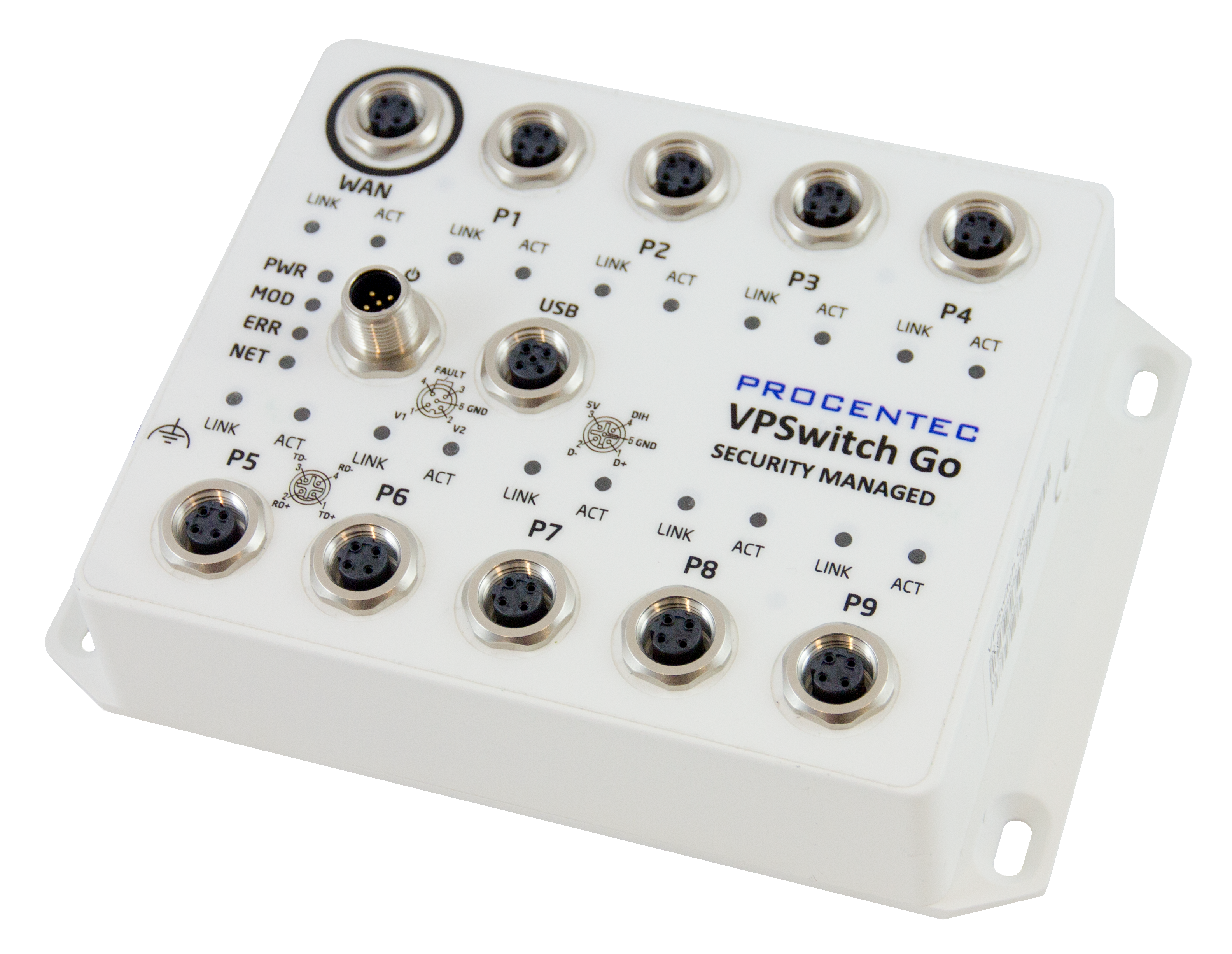 VPSwitch Go Security Managed 10TX-M12 - visual 1